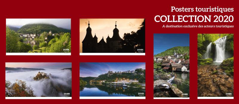Posters Doubs Tourisme 2020