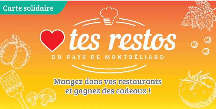 carte solidaire restaurateurs Pays de Montbéliard