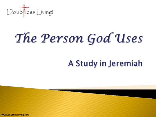 The Person God Uses - Doubtless Living in Brentwood
