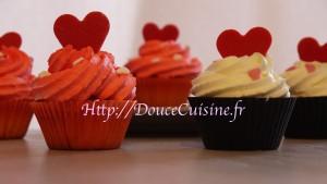 Cupcakes Saint Valentin