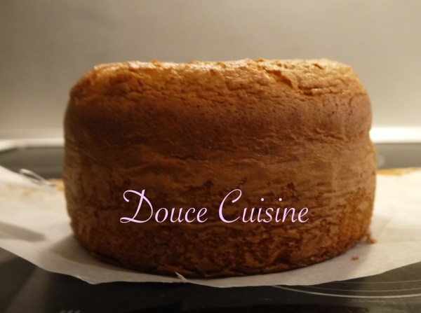 Gâteau Dolce DIta à la crème fraîche