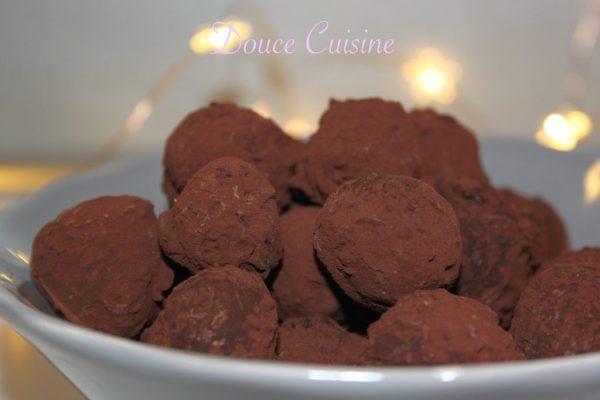 Truffes fève de Tonka vanille de Pierre Hermé