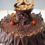 Gâteau d'automne tout chocolat