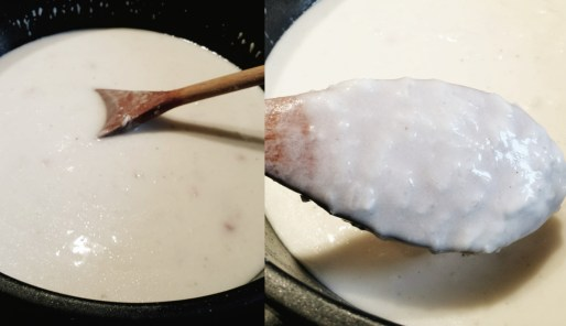 煎蘿蔔糕 jian Luobogao, gâteau de radis blanc frit