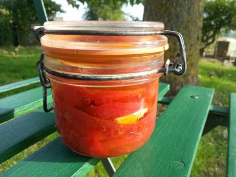 Simplement bon : Tarte aux tomates confites 油封蕃茄派