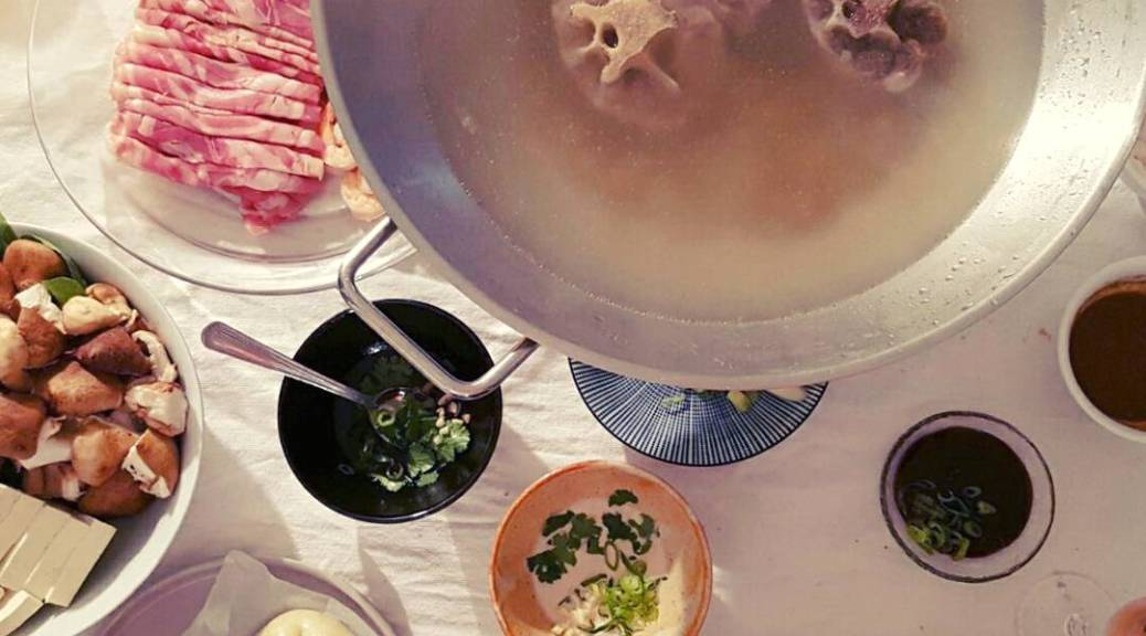 牛肉湯 niuroutang Bouillon de boeuf chinois