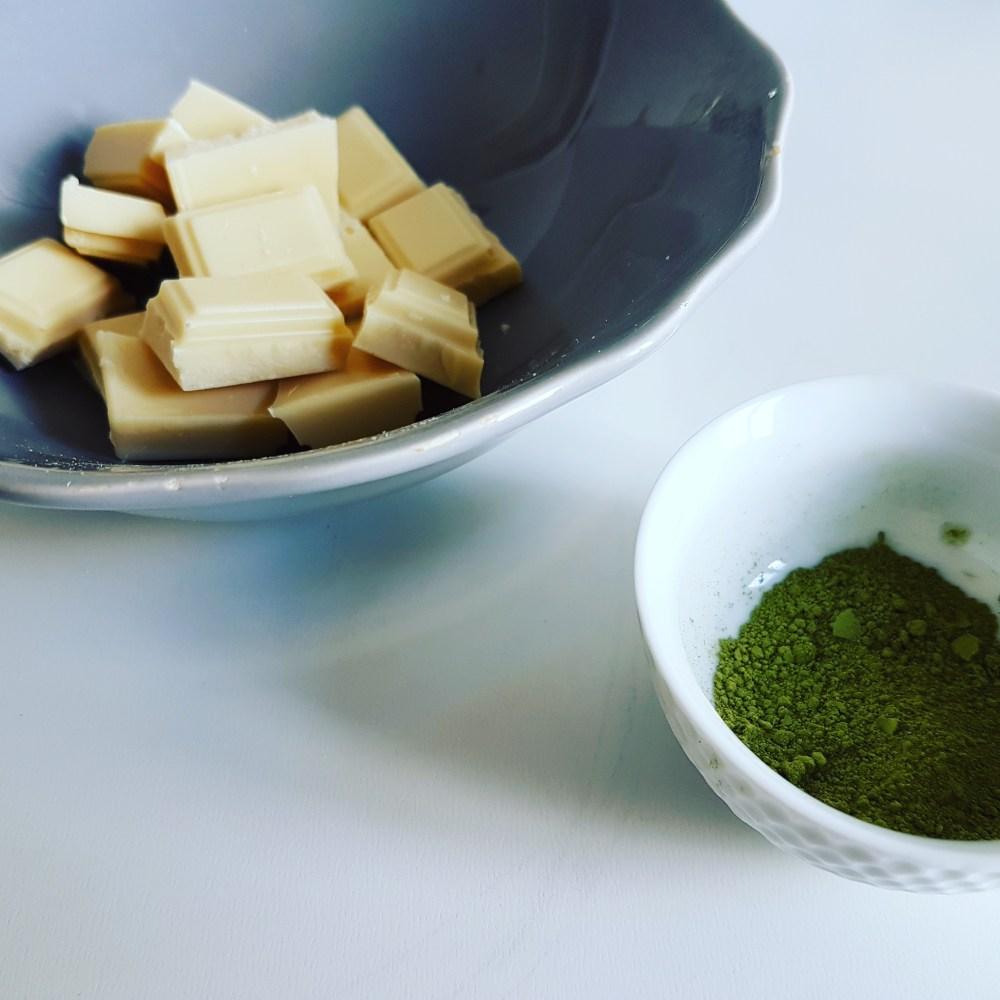 Croissant nappé au matcha抹茶醬可頌
