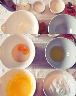 Pancakes soufflés japonais 日式舒芙蕾鬆餅 - Préparation