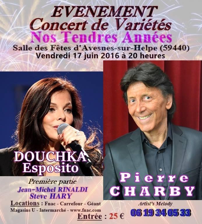affiche Douchka -Pierre Charbit 17;06;2016