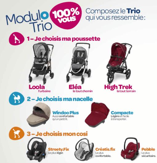 Bébé Confort Modulo trio