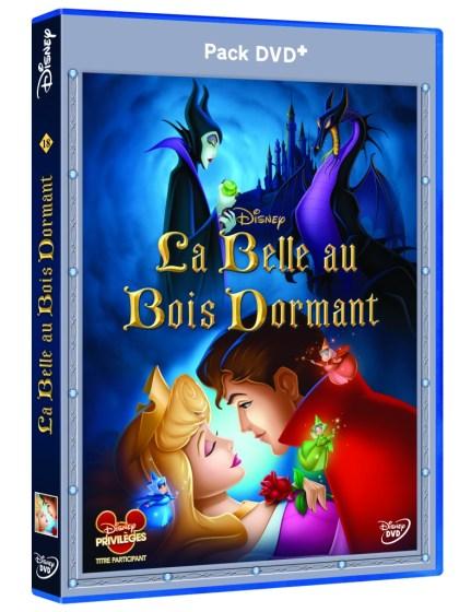 3D DVD+ La Belle au bois Dormant-2