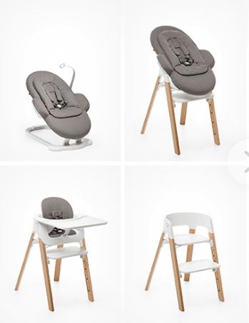 Chaise haute transat stokke steps