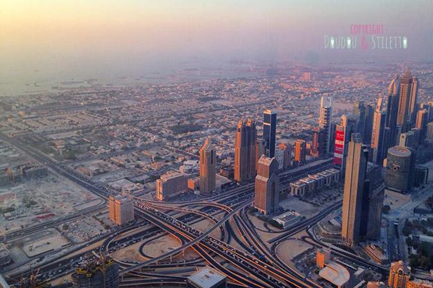 Dubai Burj Khalifa vue