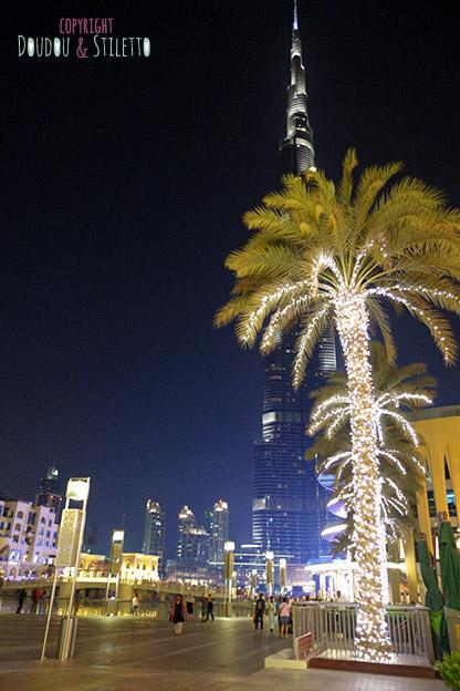 Dubai mall burj khalifa spectacle fontaines