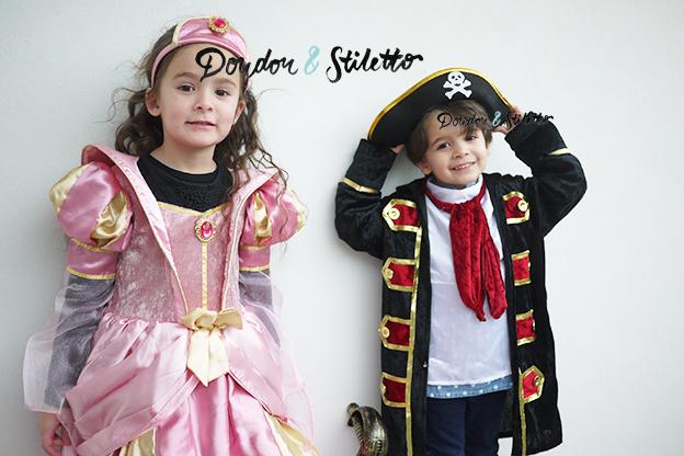 Déguisement princesse, déguisement pirate
