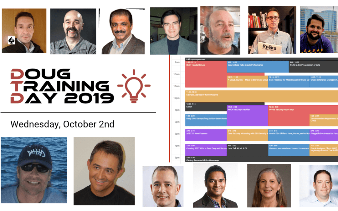 Session Registration is Open for DOUG Training Day 2019