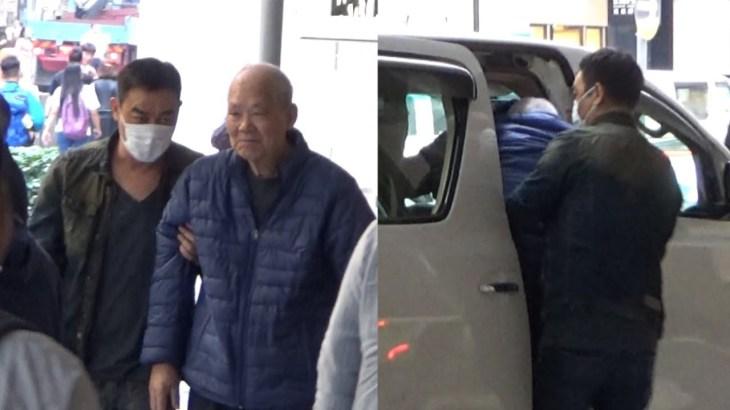 娛圈孝子  劉青雲抱老父上車令人感動