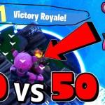 【フォートナイト】50 vs 50のアプデがすごいっ!ピンクの熊課金