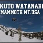 ほんとにすごい12歳!!RIKUTO WATANABE MAMMOTH MOUNTAINN TRIP
