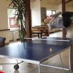 【衝撃】卓球芸人も驚きの超絶スーパープレー!海外の神業動画まとめ【Video Pizza】