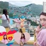 【街全体可愛い!】韓国のマチュピチュが想像以上にかわいすぎた!!!【釜山 甘川文化村】