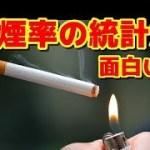 【トーク動画】喫煙率の統計が面白い!