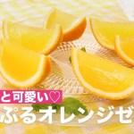 コロンと可愛い♡ぷるぷるオレンジゼリー | How To Make Purupuru Orange Jelly