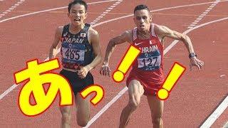 【海外の反応】外国人がびっくり!アジア大会陸上でのありえないハプニングに会場が衝撃!井上大仁選手金メダル剥奪の危機でやばい!?