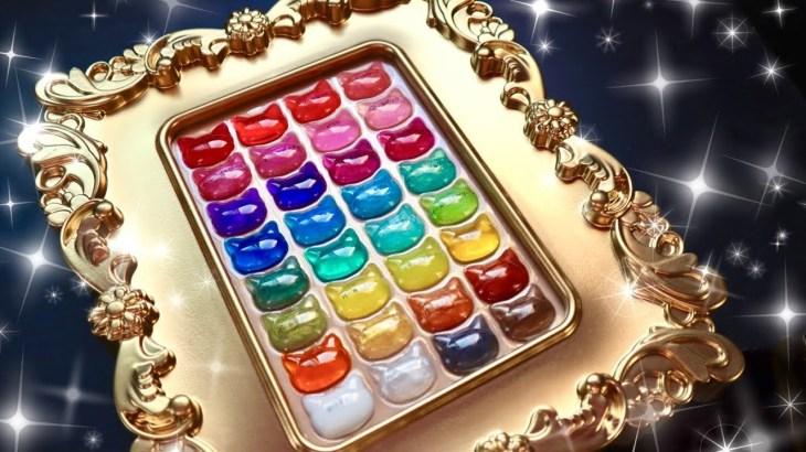 【レジン購入品】世界一可愛い🐱色見本を作る【ネイル工房】