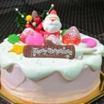 """2018""""おもちゃみたいな""""かわいいクリスマスケーキ"""