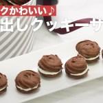 サクサクかわいい♪絞り出しクッキーサンド | How To Make Squeezed Cookie Sandwich