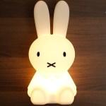 """ミッフィーライトかわいい / Miffy Lamp """"MIFFY FIRST LIGHT"""". cute!"""