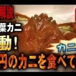 【カニ旅行】感動!  2万円の松葉カニを食べてみた (山陰芝山漁港産)