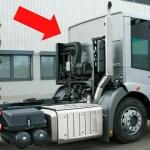 スライド式のドアをもつ 大型トラックの驚きの機能【超希少車シリーズ】