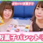 DAISOのケースで可愛いお菓子たち沢山のお菓子パレット作ってみた♡!!!!!