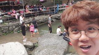 「韓国旅行」川遊びすごい!