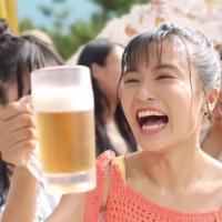 小島瑠璃子 が出演する キリンビール キリン のどごし <生> のCM 「キンキンの差し入れ 小島瑠璃子」篇