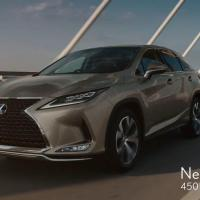 TOYOTA LEXUS RX のCM 「RX START THE WAY」篇