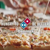 ドミノ・ピザ のCM 「おいしいに安心を」篇。