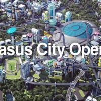 パラリンピック公式スマートフォン向けゲーム The Pegasus Dream Tour のCM と公式アンバサダー 羽生結弦 コメント動画。