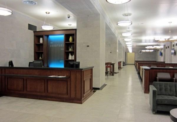 Panorama Lounge at Toronto Union Station