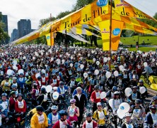 The Montreal Bike Fest week and Le Tour de L'ile de Montreal