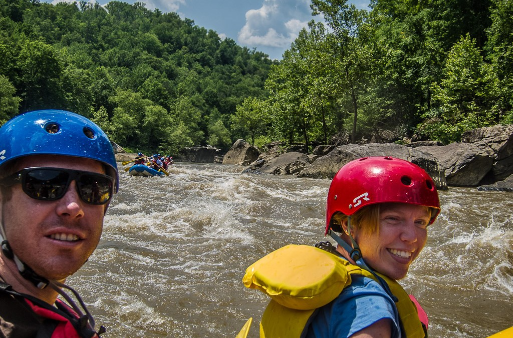 Searching for whitewater and moonbows in Corbin Kentucky