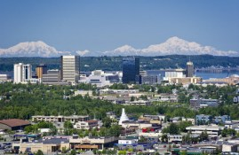 Anchorage Skyline - Ken Graham Photography