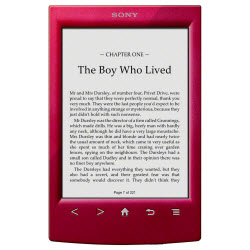 Sony Reader_WiFi_Red