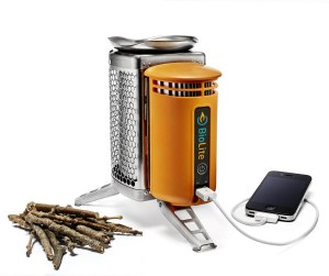 Biolite Camp Stove with portable usb power