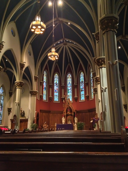 Sacred Heart Catholic Church in St. Marys, PA