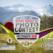 Win a double hammock for National Hammock Day