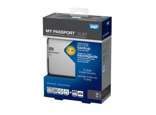My Passport Slim = huge storage in minimal package from Western Digital