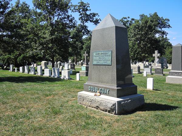 Abner Doubleday tomb